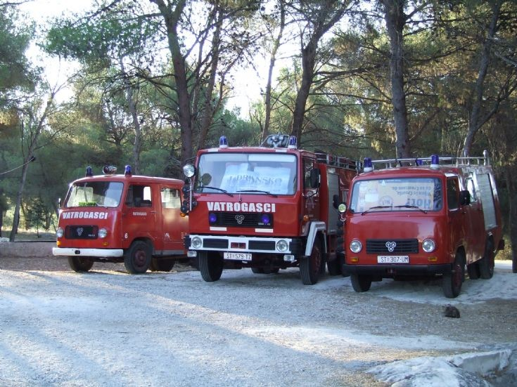 TAM Fire engines Croatia