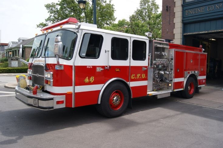 Cincinnati Engine 46 E-One
