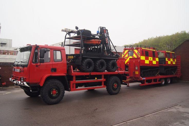 Heavy duty off road capability