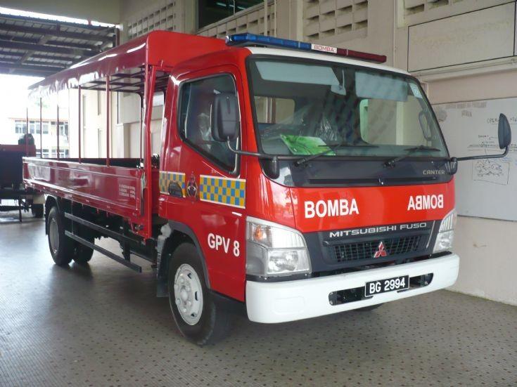 Mitsubishi Canter GPV8 Brunei BG2994