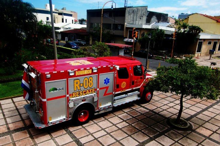 Freightliner M2 Costa Rica FD Back