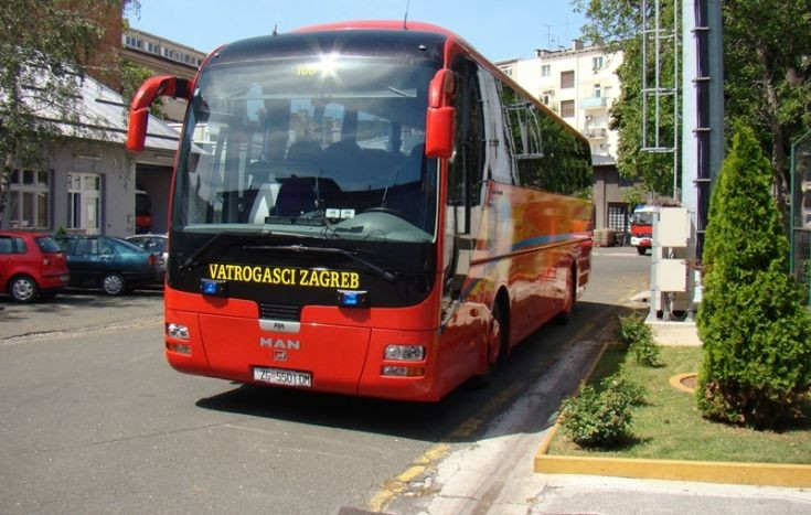 JVP ZAGREB MAN - CROATIA bus