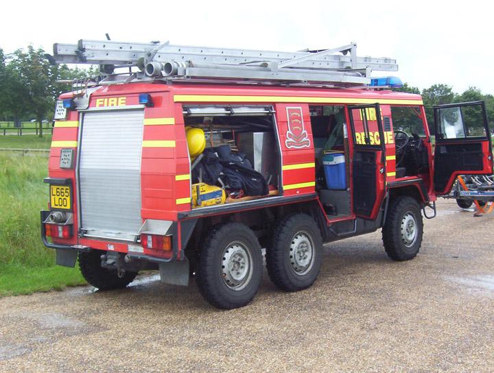 Essex Fire and Rescue Service  Steyr Pinzgauer