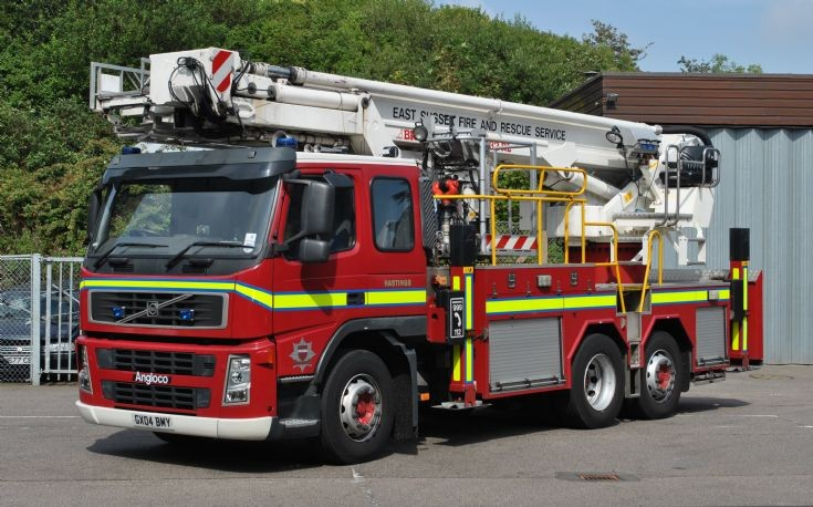 East Sussex Fire & Rescue Service GX04 BMY