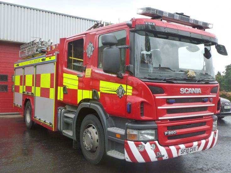 Strathclyde Fire & Rescue SF10GVX