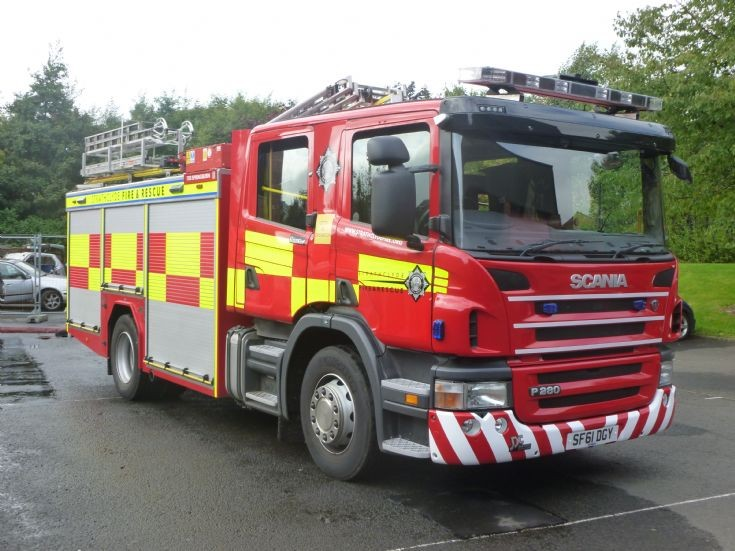 Strathclyde Fire & Rescue SF61DGY