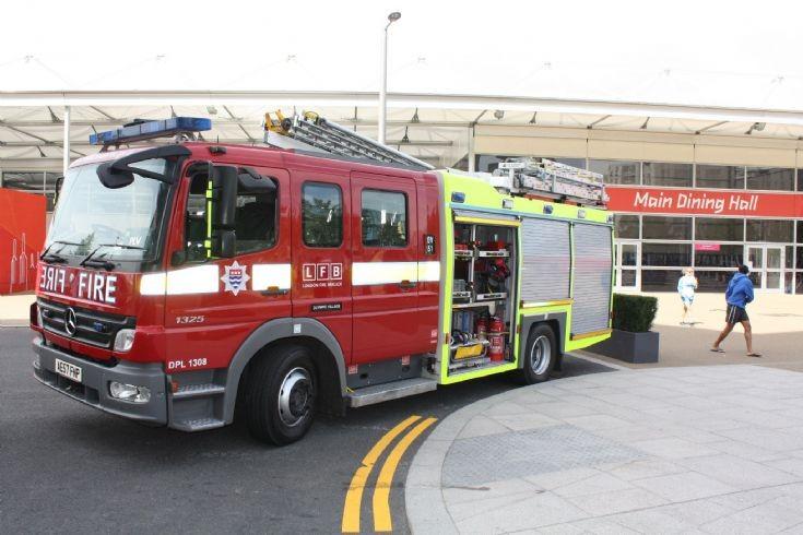 Olympic Fire Engine Mercedes Atego LFB