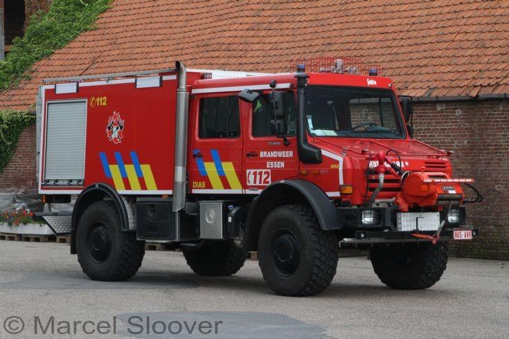 Brandweer Essen Mercedes Unimog E7