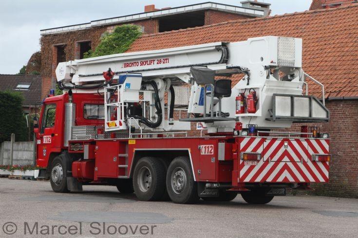 Brandweer Essen Volvo Bronto back