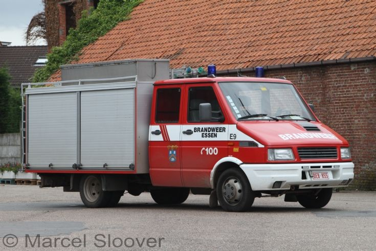 Brandweer Essen Iveco Daily Rescue Truck