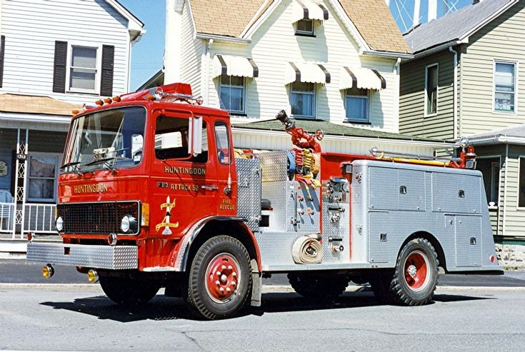 Bruco attack pumper on Volvo chassis