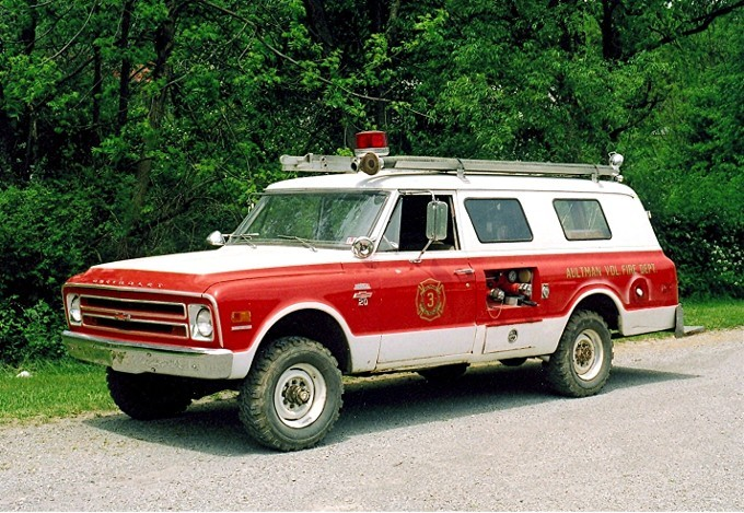 1968 Chevy/Bruco squad/brush rig