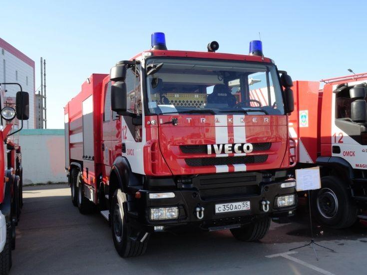 Iveco Magirus - Trakker Omsk Fire dept