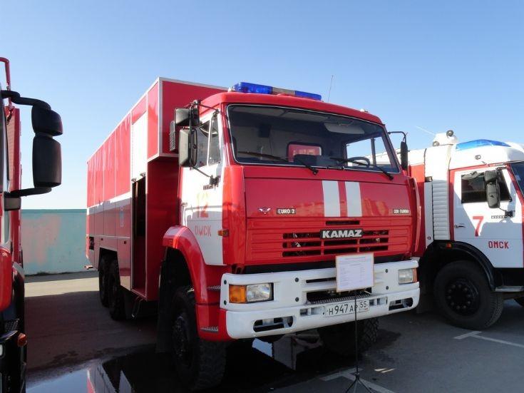 KAMAZ-6522 Omsk Fire dept