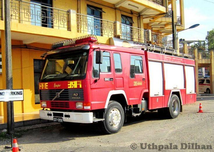 Fire and Rescue Kotte Sri Lanka Volvo