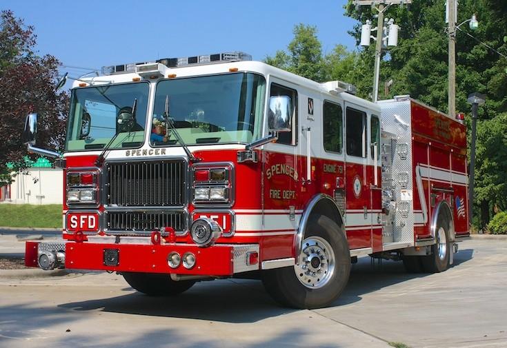 Spencer Fire dept NC E-751 Seagrave