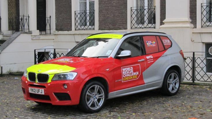 BMW YK12UFJ London World Rescue Challenge