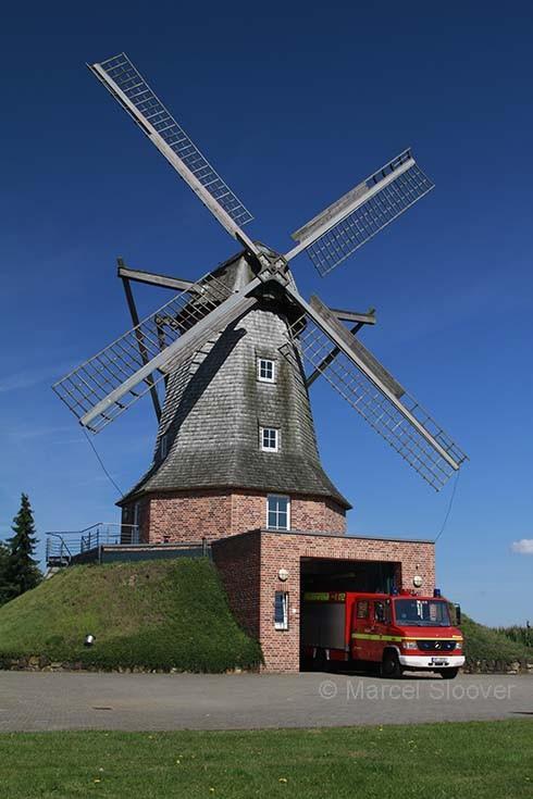 Special Fire station Sinningen NRW Germany