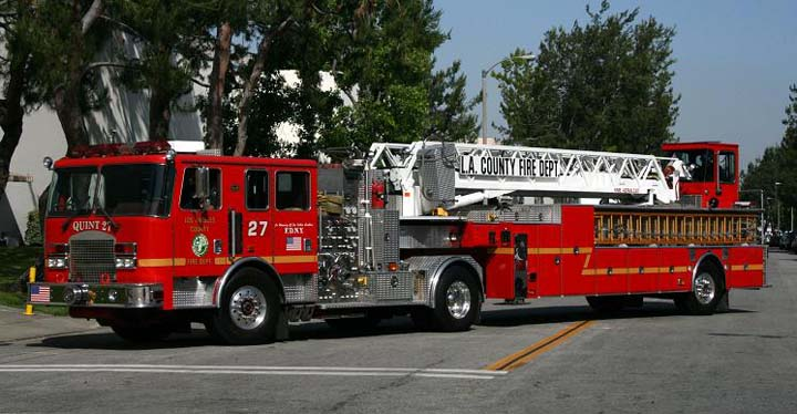 Los Angeles County FD KME Quint
