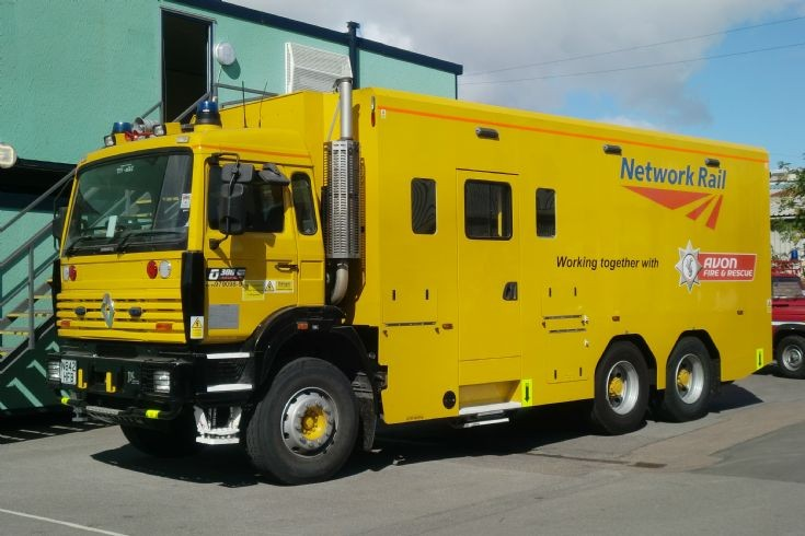 avonmouth rail rescue unit Renault Network Rail