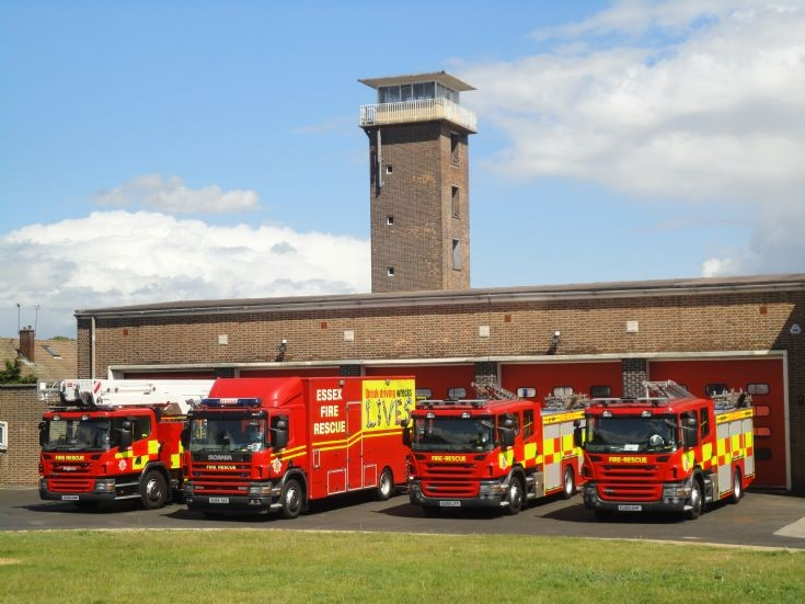 Grays line up Essex fire service.