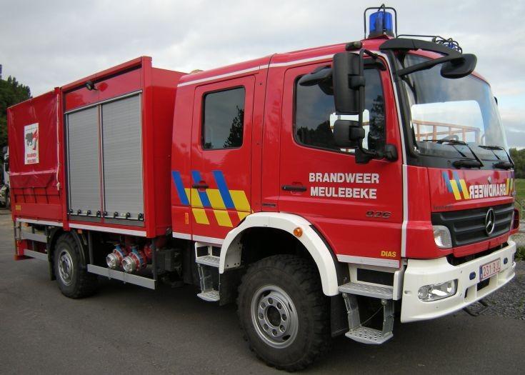 Brandweer Meulebeke Mercedes Atego