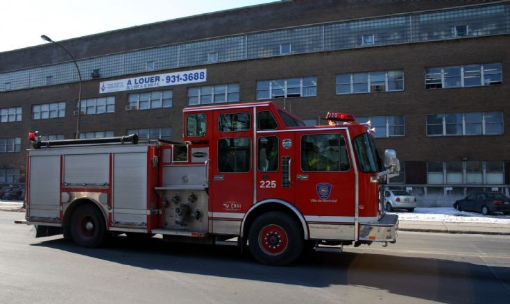 Superior Montreal Fire dept Engine 225