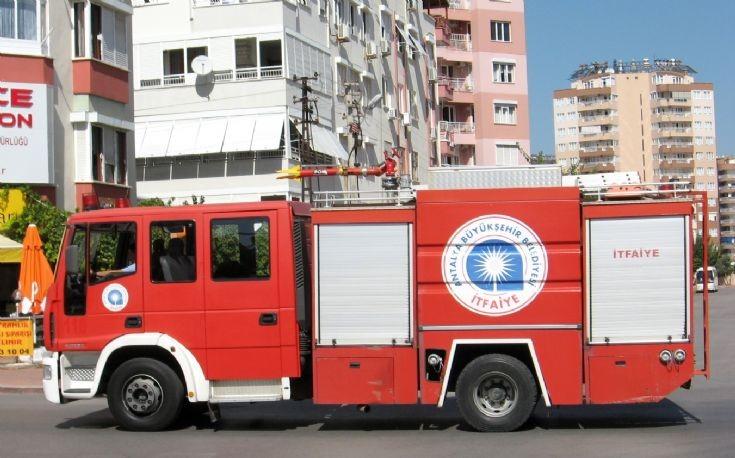 Iveco-Magirus 150e28 Antalya Fire service
