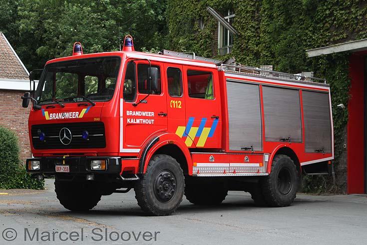 Brandweer Kalmthout Mercedes 1017AF36