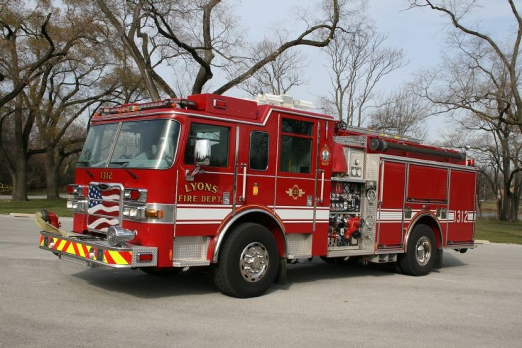 Lyons Fire Department Pierce Engine 1312