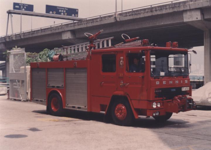 Hong Kong Fire service Dennis Major Pump
