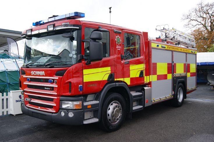 Staffordshire Lichfield Scania Emergency One