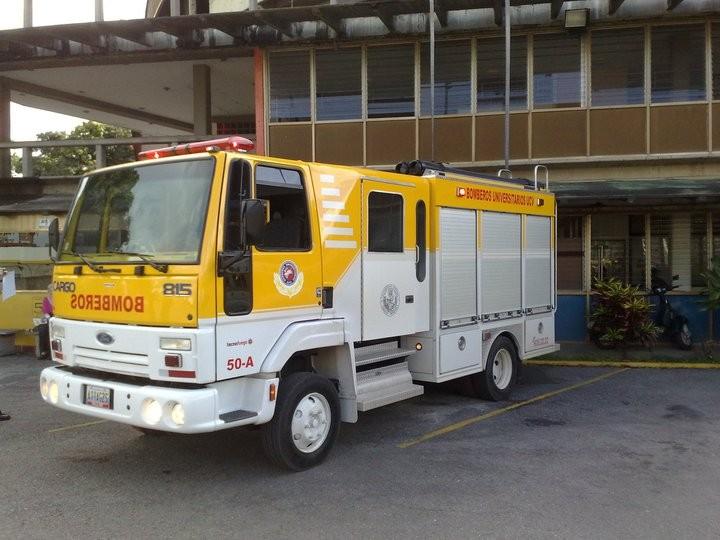Fire Brigade Vol. Uneversity Central of Vzla.