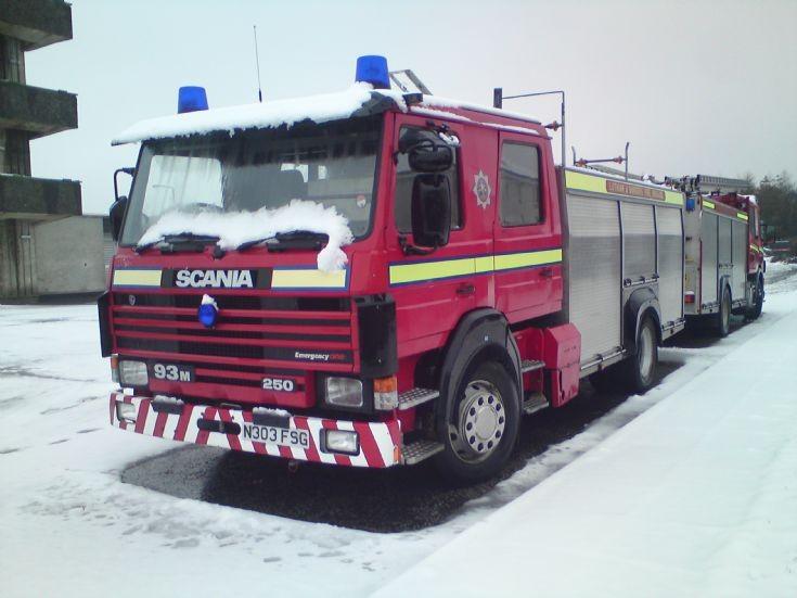 Lothian and Borders N303FSG Scania 94M