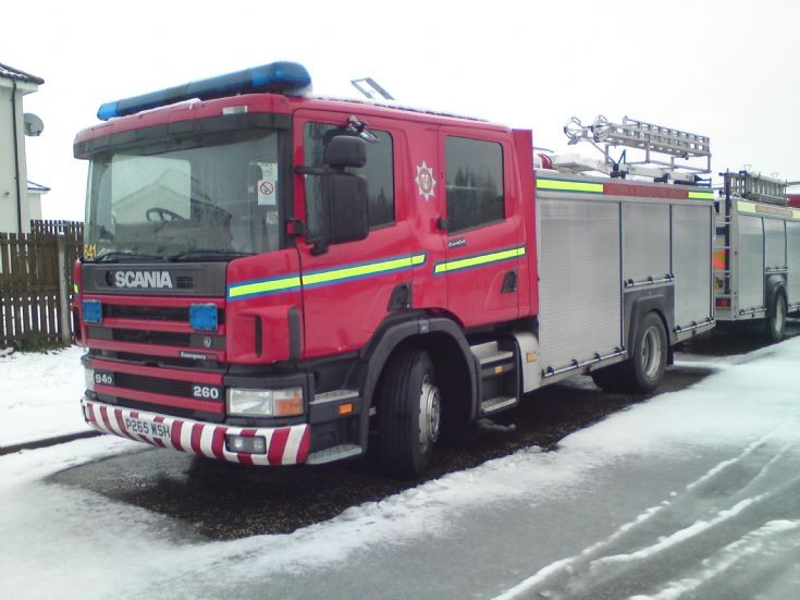 Lothian and Borders P265WSH Scania