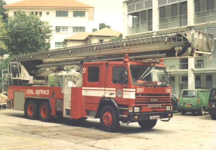Singapore Aerial appliance Scania