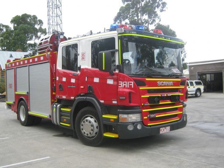 CFA South Morang New Scania P320 pump.