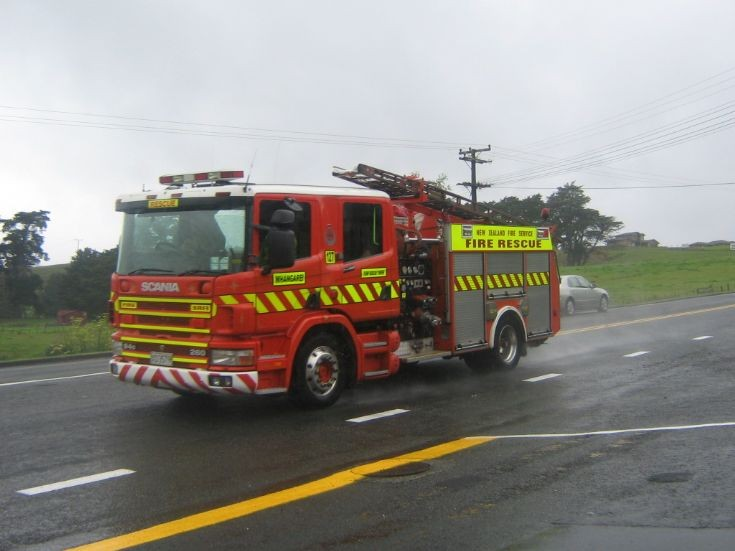 Whangarei Scania P94D Pump Rescue Tender 127.