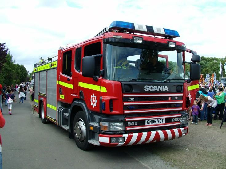 Kent Fire Engine 131 GN05VGT