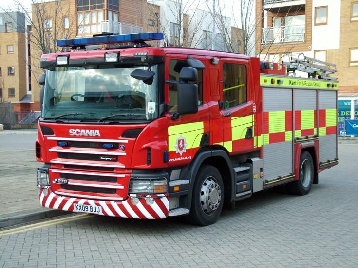 KFB 222 Emergency One KX09BJJ Scania