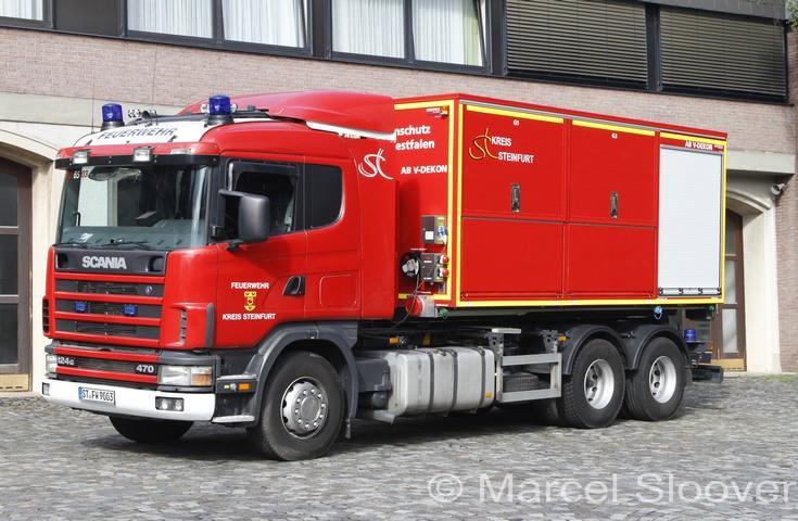 Feuerwehr Lengerich Scania WLF