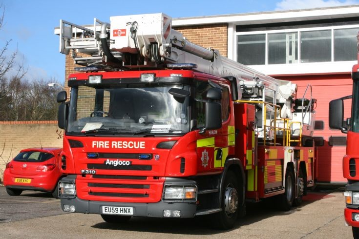 Essex Fire & Rescue Scania P310/Angloco