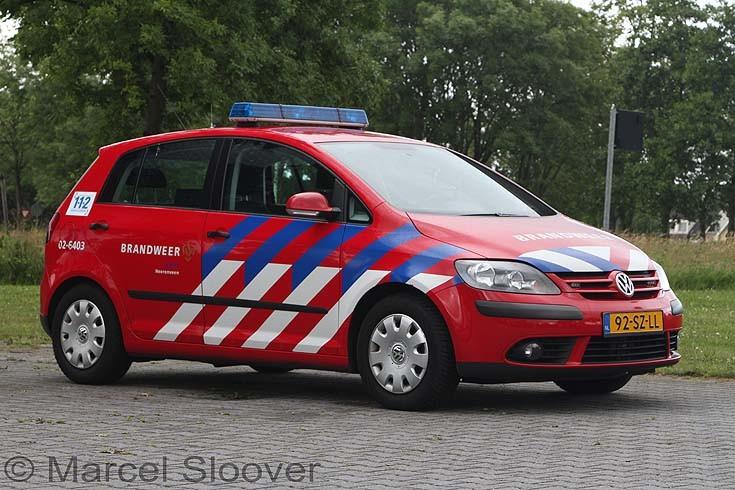 Brandweer Heerenveen VW Golf
