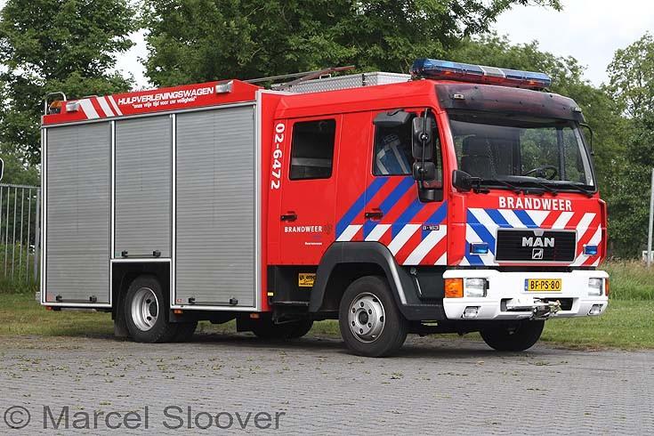 Brandweer Heerenveen MAN 02-6472
