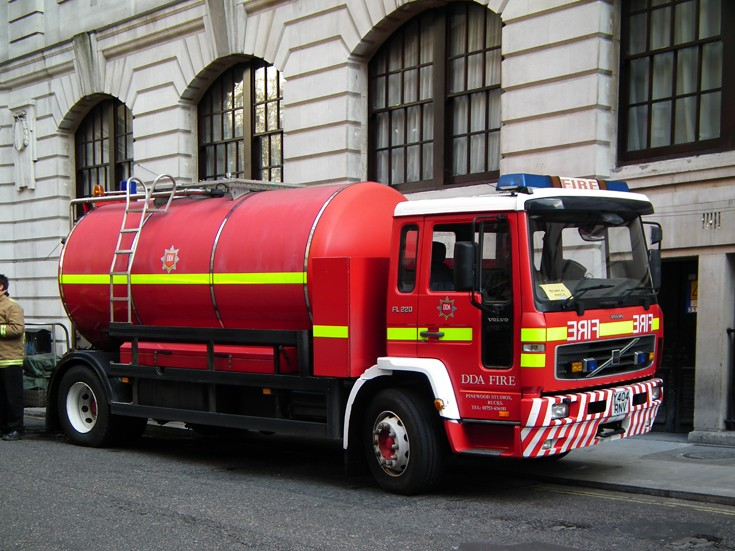 DDA Fire Volvo FL 220 Tanker
