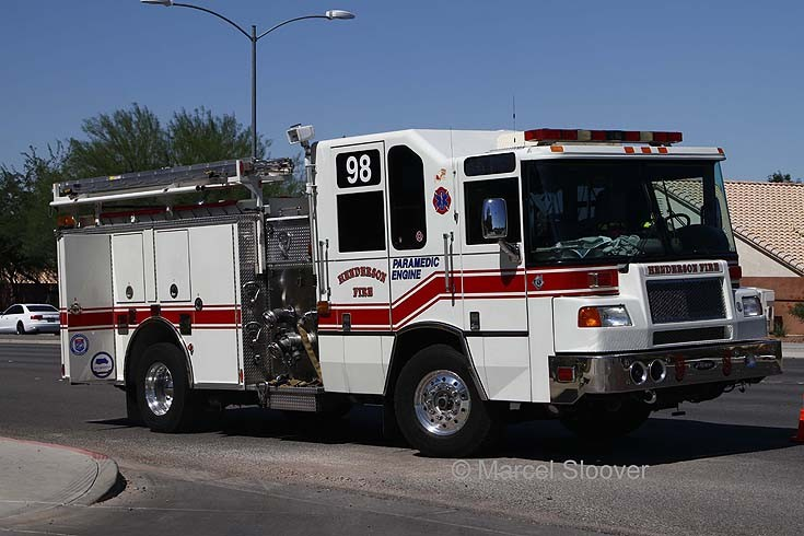 Engine 98 Pierce Henderson NV FD