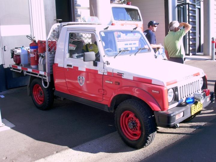 Australia's Smallest Fire Engine