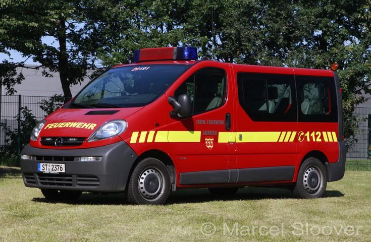 Feuerwehr Saerbeck Opel Vivaro