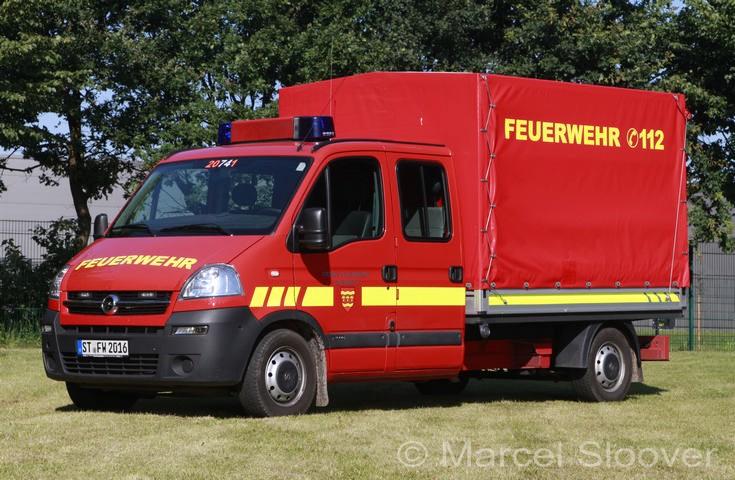 Feuerwehr Saerbeck Opel Movano