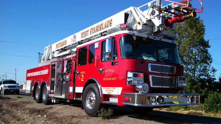 Patterson - West Stanislaus Fire : Truck 2
